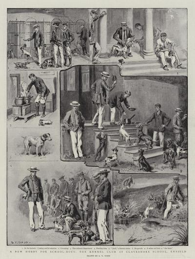 A New Hobby for School-Boys, the Kennel Club at Clayesmore School, Enfield-S^t^ Dadd-Giclee Print