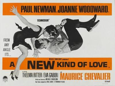 A New Kind of Love, UK Movie Poster, 1963