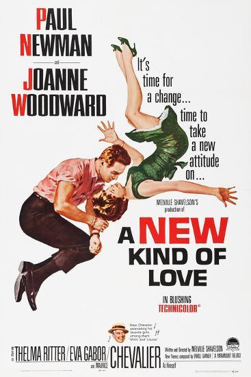 A New Kind of Love--Poster