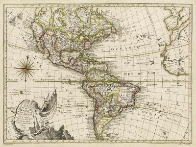 A New Map of America, 1769-Vallet-Art Print