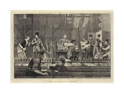 A New Opera, Undress Rehearsal-Joseph Nash-Giclee Print