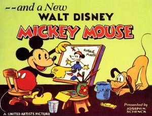 A New Walt Disney Mickey Mouse, 1932