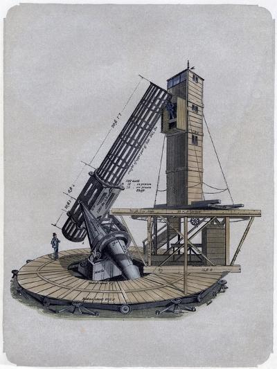 A Newtonian Reflector, 1870--Giclee Print