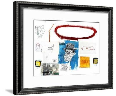 A Next-Jean-Michel Basquiat-Framed Premium Giclee Print