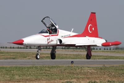 A Nf-5A of the The Turkish Stars Aerobatic Display Team-Stocktrek Images-Photographic Print
