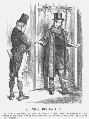 A Nice Distinction, 1875-Joseph Swain-Giclee Print