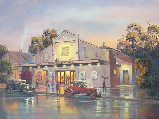 A Night at the Movies-John Bradley-Giclee Print