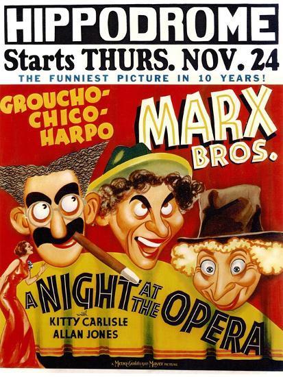 A Night At The Opera, 1935--Art Print