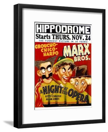 A Night At The Opera, 1935--Framed Art Print