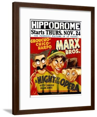 A Night At The Opera, 1935--Framed Art Print