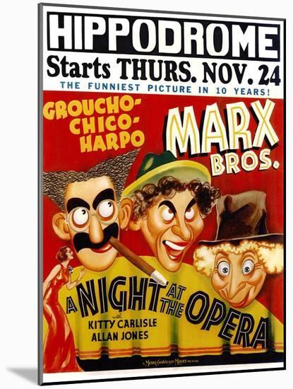 A Night At The Opera, 1935--Mounted Art Print