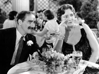 A Night At The Opera, Groucho Marx, Margaret Dumont, 1935--Photo