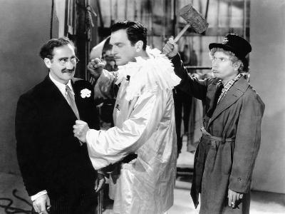 A Night at the Opera, Groucho Marx, Walter Woolf King, Harpo Marx, 1935--Photo