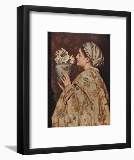'A Noble Lady of Venice', 1866, (c1915)-Frederic Leighton-Framed Giclee Print