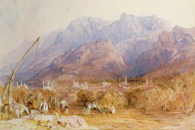 A North African Scene-David Roberts-Giclee Print