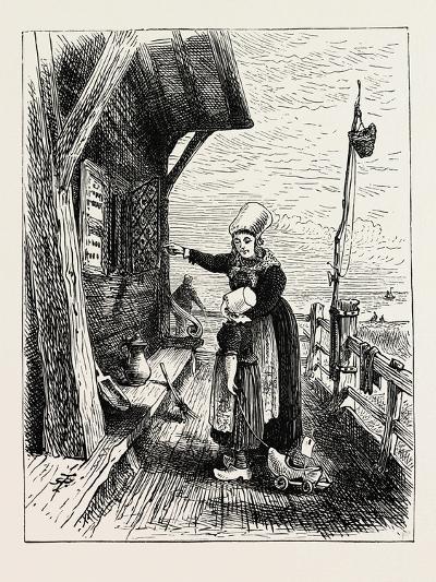 A Norwegian Peasant's House--Giclee Print