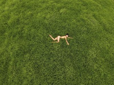 Nude on grass Nude Photos 36