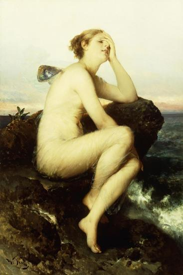 A Nymph by the Sea-Wilhelm Kray-Giclee Print