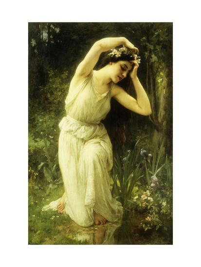 A Nymph in the Forest-Charles Amable		 Lenoir-Giclee Print