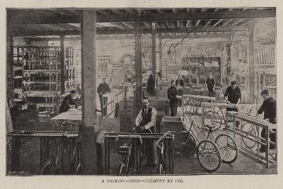 A Packing-Room, Clement Et Cie--Giclee Print