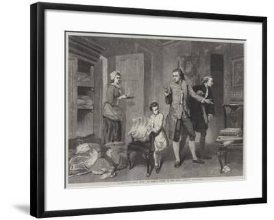 A Painter's First Work-Marcus Stone-Framed Giclee Print