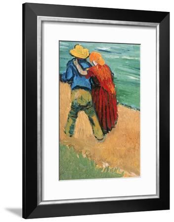 A Pair of Lovers, Arles, 1888-Vincent van Gogh-Framed Giclee Print