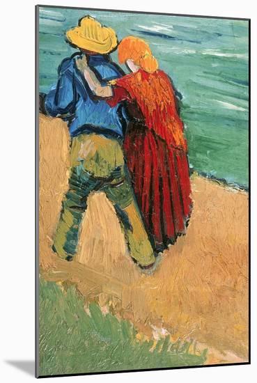 A Pair of Lovers, Arles, 1888-Vincent van Gogh-Mounted Giclee Print