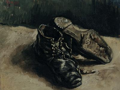 A Pair of Shoes, 1886-Vincent van Gogh-Giclee Print
