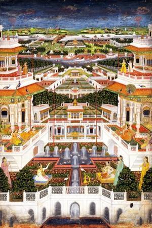 A Palace Complex with Harem Gardens, Ca 1764-1765
