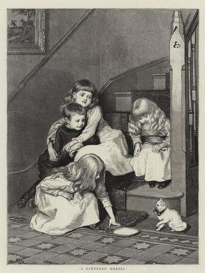A Pampered Morsel-Robert Barnes-Giclee Print