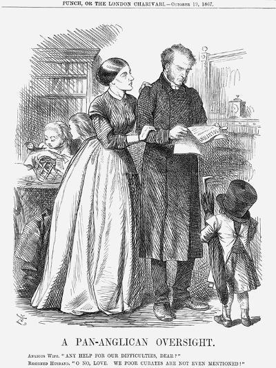 A Pan-Anglican Oversight, 1867-John Tenniel-Giclee Print