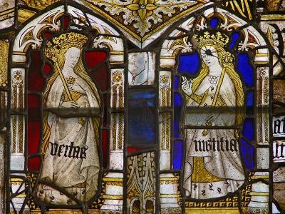 A Panel in the East Window Depicting the Cardinal Virtues: Truth--Giclee Print