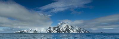 A Panoramic Stitch of Elephant Island, Antarctica from Five Images-Ralph Lee Hopkins-Photographic Print