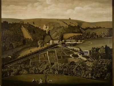 A Panoramic View of Ashcombe, Wiltshire, 1770