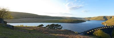 A Panoramic View of Craig Goch Reservoir-Graham Lawrence-Photographic Print
