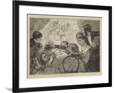 A Pantomime Party--Framed Giclee Print