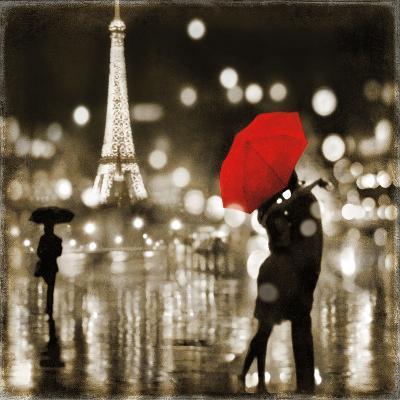 A Paris Kiss-Kate Carrigan-Art Print