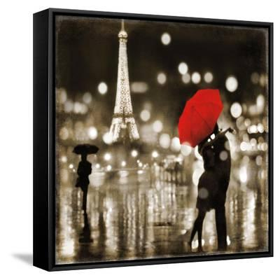 A Paris Kiss-Kate Carrigan-Framed Canvas Print