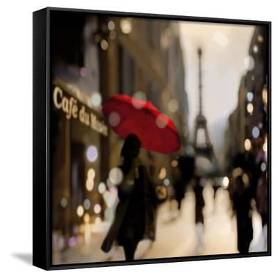 A Paris Stroll-Kate Carrigan-Framed Canvas Print
