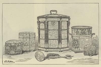 A Parish Tobacco Box--Giclee Print