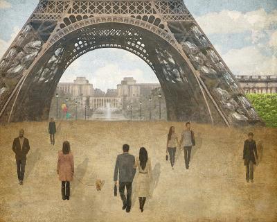 A Parisien Stroll-Midori Greyson-Giclee Print