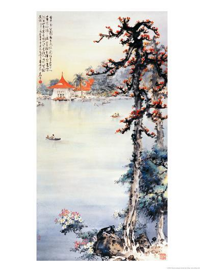 A Park in Taichung-Wong Luisang-Giclee Print