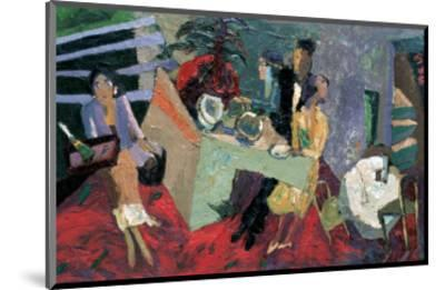 A Party at a Hotel-Zhang Yong Xu-Mounted Giclee Print