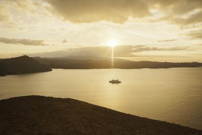 A Passenger Expedition Ship Cruises the Galapagos Islands-Jad Davenport-Photographic Print