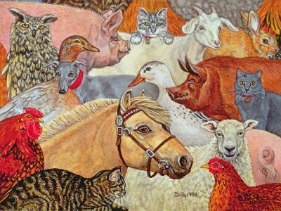 A Patchwork for Laura, 1993-Ditz-Giclee Print