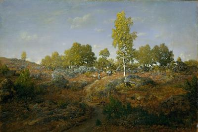 A Path among the Rocks, c.1861-Pierre Etienne Theodore Rousseau-Giclee Print