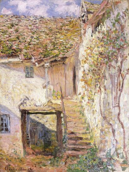 A Path on the Edges of Pontoise-Camille Pissarro-Giclee Print