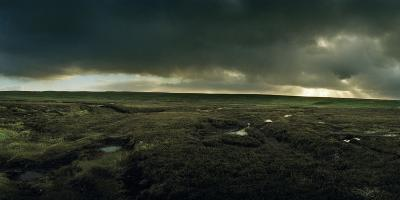 A Peat Covered Landscape Near Port of Ness-Macduff Everton-Photographic Print