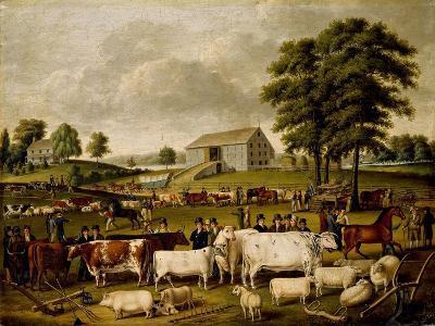 A Pennsylvania Country Fair-John Archibald Woodside-Giclee Print