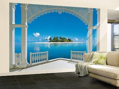 A Perfect Day Balcony Wall Mural--Wallpaper Mural